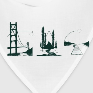 Coast Through Coast T-Shirts - Bandana