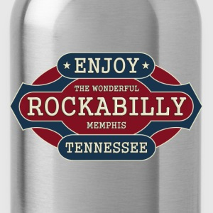enjoy rockabilly - Water Bottle