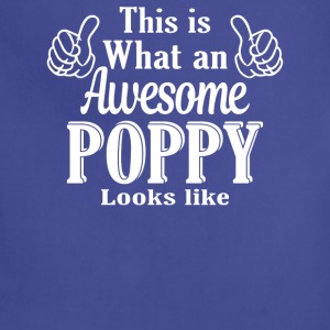 This is what an awesome Poppy looks like - Adjustable Apron