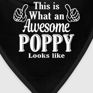This is what an awesome Poppy looks like - Bandana