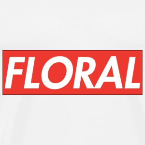 Floral Supreme Hoodies - Men's Premium T-Shirt