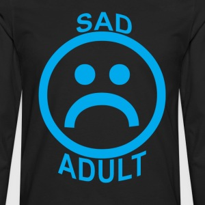 sad_adult_ - Men's Premium Long Sleeve T-Shirt