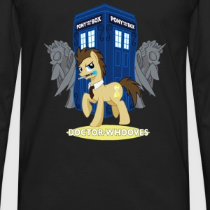Brony My Little Pony Whooves - Men's Premium Long Sleeve T-Shirt