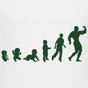 evolution bodybuilding Kids' Shirts - Toddler Premium T-Shirt
