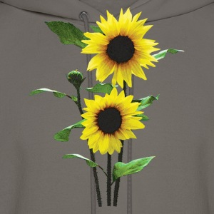 Sunflowers Tall and Short T-Shirts - Men's Hoodie