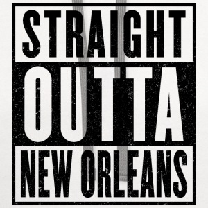 Straight Outta New Orleans - Contrast Hoodie