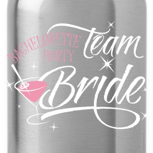 Team Bride t-shirt design - Water Bottle