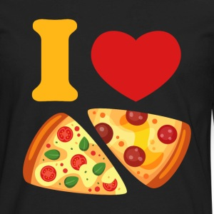 I Love Pizza Kids' Shirts - Men's Premium Long Sleeve T-Shirt
