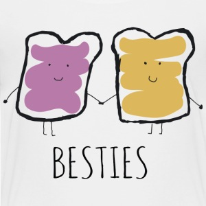Peanut Butter and Jelly, the Original Besties - Toddler Premium T-Shirt