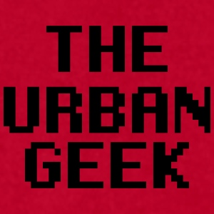 The Urban Geek - Men's T-Shirt by American Apparel