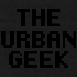 The Urban Geek Red - Men's T-Shirt