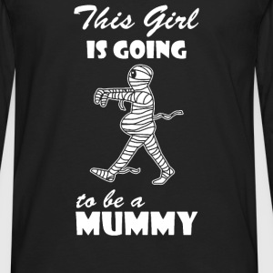 Pregnant Mummy - Men's Premium Long Sleeve T-Shirt