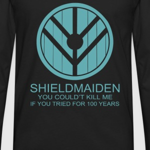 Shield Maiden - Men's Premium Long Sleeve T-Shirt