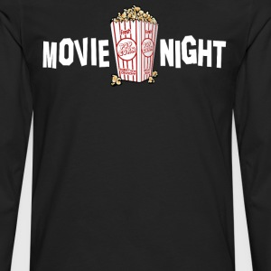 Movie Night T-Shirts - Men's Premium Long Sleeve T-Shirt