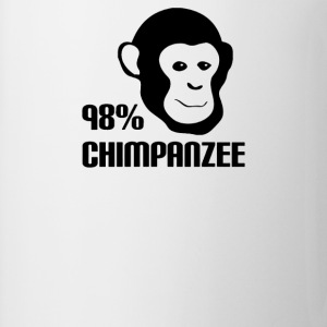 98% Chimpanzee - Coffee/Tea Mug