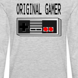 Original Gamer  T-Shirts - Men's Premium Long Sleeve T-Shirt