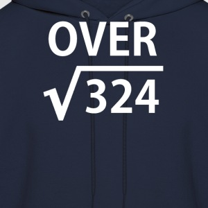 I'm Over 18 Square Root T-Shirts - Men's Hoodie
