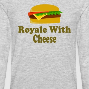 Royale With Cheese - Pulp Fiction T-Shirts - Men's Premium Long Sleeve T-Shirt