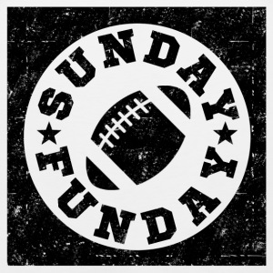 SUNDAY FUNDAY FOOTBALL6.png T-Shirts - Men's Premium Tank