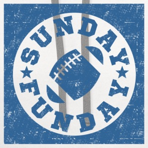 SUNDAY FUNDAY FOOTBALL9.png T-Shirts - Contrast Hoodie