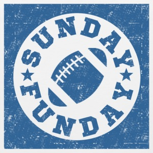SUNDAY FUNDAY FOOTBALL9.png T-Shirts - Men's Premium Tank
