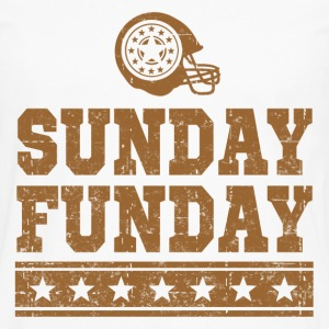 SUNDAY FUNDAY FOOTBALL 3.png T-Shirts - Men's Premium Long Sleeve T-Shirt