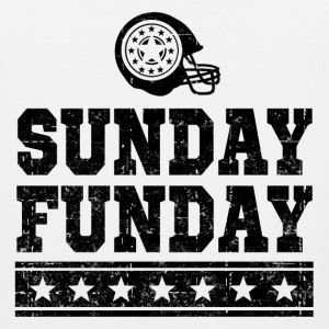 FUNDAY FOOTBALL1.png T-Shirts - Men's Premium Tank