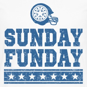 SUNDAY FUNDAY FOOTBALL4.png T-Shirts - Men's Premium Long Sleeve T-Shirt