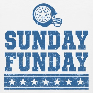 SUNDAY FUNDAY FOOTBALL4.png T-Shirts - Men's Premium Tank