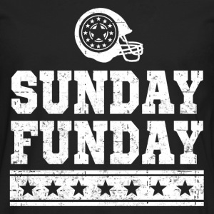 SUNDAY FUNDAY FOOTBALL 2.png T-Shirts - Men's Premium Long Sleeve T-Shirt