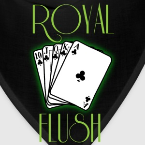 Royal flush green t shirt - Bandana