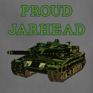 Proud Jarhead khaki t shirt - Adjustable Apron