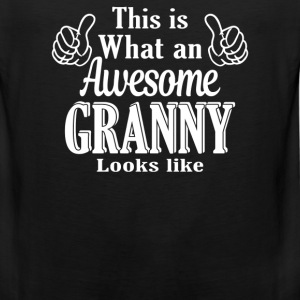 This is what an awesome Granny looks like  - Men's Premium Tank
