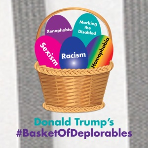 Donald Trump's Basket of Deplorables Phone & Tablet Cases - Contrast Hoodie