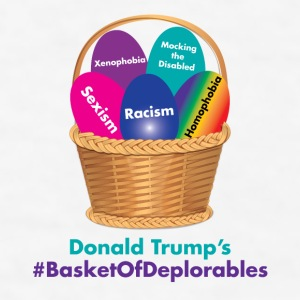 Donald Trump's Basket of Deplorables Phone & Tablet Cases - Men's T-Shirt