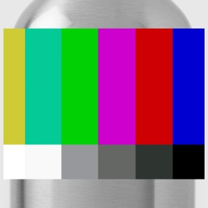 Television Color Bars T-Shirts - Water Bottle