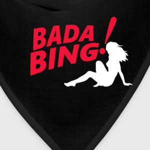 The Sopranos Bada Bing T-Shirts - Bandana