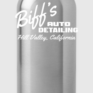 Biff's Auto Detailing - Back To The Future T-Shirts - Water Bottle