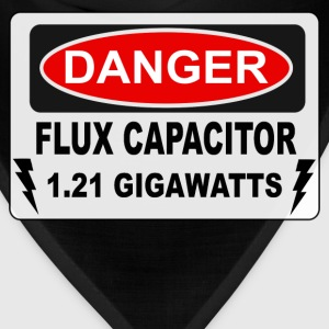Danger Flux Capacitor - Back To The Future T-Shirts - Bandana