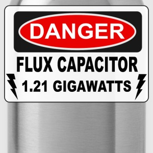 Danger Flux Capacitor - Back To The Future T-Shirts - Water Bottle