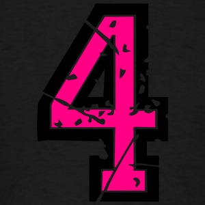 Vintage Numbers 4 Sweatshirts - Men's T-Shirt