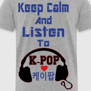 ♥♫Keep Calm&Listen to KPop Kids' Hoodie♪♥ - Toddler Premium T-Shirt