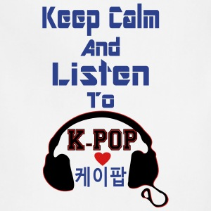 ♥♫Keep Calm&Listen to KPop Kids' Unisex Tee♪ - Adjustable Apron