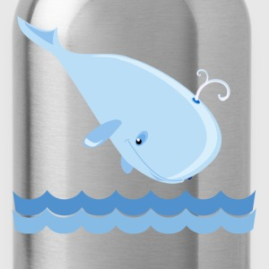 Whale Kids' Shirts - Water Bottle