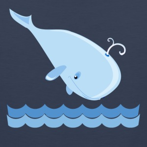 Whale Kids' Shirts - Men's Premium Tank