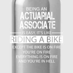 Actuarial Associate T-Shirts - Water Bottle