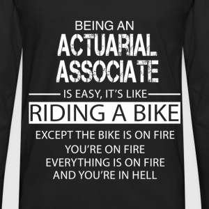 Actuarial Associate T-Shirts - Men's Premium Long Sleeve T-Shirt