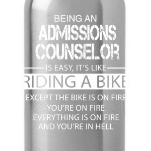 Admissions Counselor T-Shirts - Water Bottle