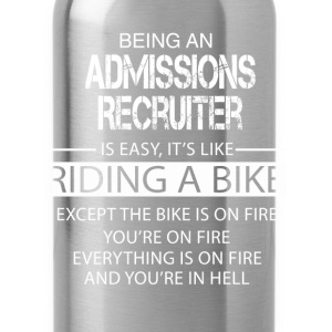 Admissions Recruiter T-Shirts - Water Bottle