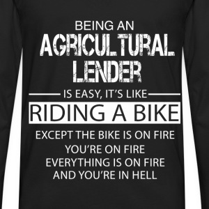 Agricultural Lender T-Shirts - Men's Premium Long Sleeve T-Shirt